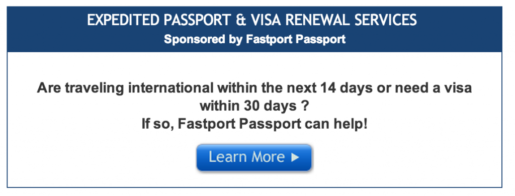 How much to renew lost passport