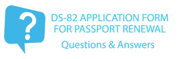 DS-82 Application for Passport Renewal Form