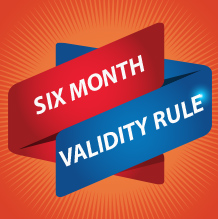 Six Month Passport Validity Rule –  6 Month Validity Rule for Visitors Explained
