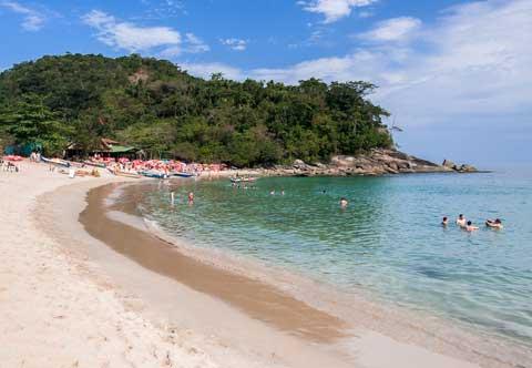 Cachadaco Beach in Trindade