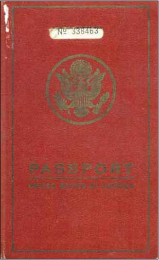 First U.S. Passport