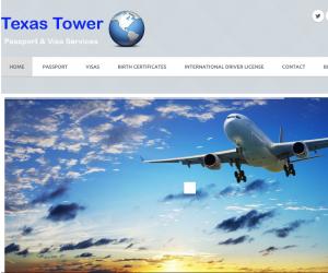 Texas Tower Passport