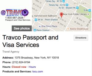Travco Passport