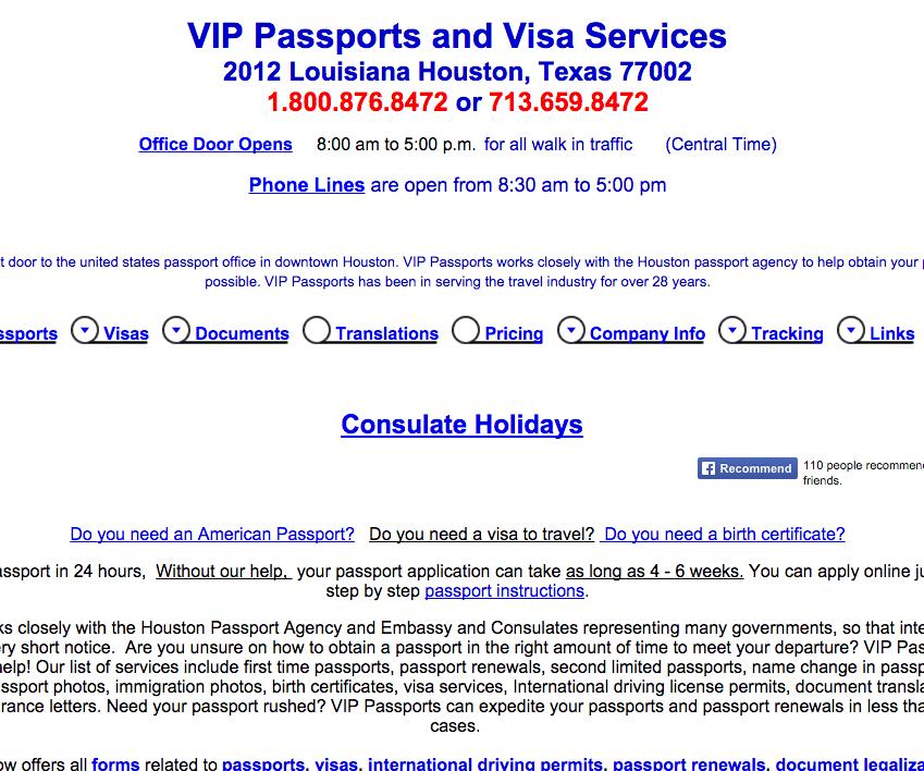 Vip Passports