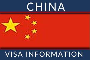 Chinese visa information