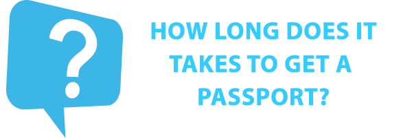 How Long does it take to get a U.S. Passport