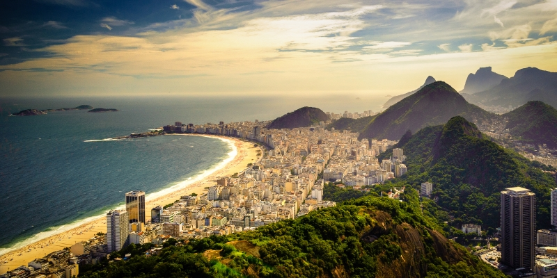 Travel to Brazil beaches