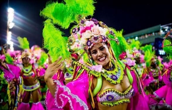 Travel to Brazil carnival