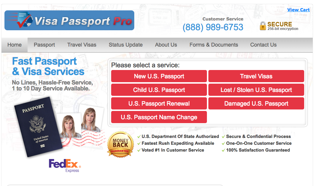 Visa Passport Pro