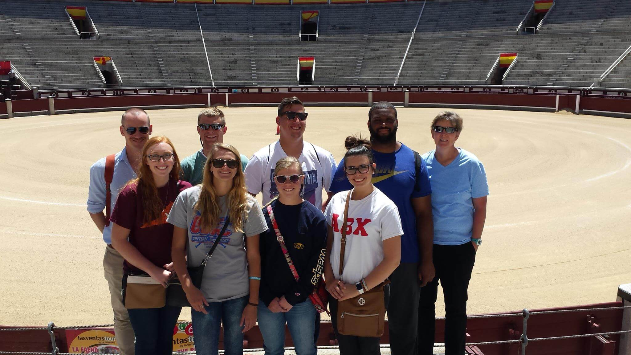 Emory & Henry College Study Abroad students in Spain