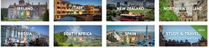AIFS study abroad locations worldwide