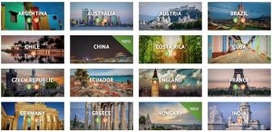 AIFS study abroad locations