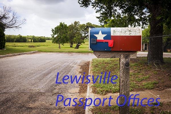 Lewisville Passport Offices