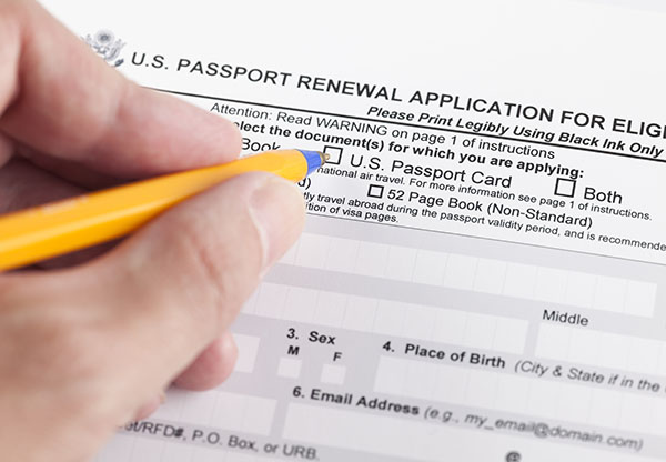 Ds Application Form For Passport Renewals